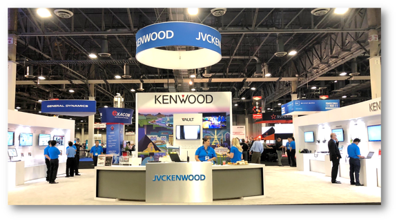 APCO 2018 JVCKENWOOD Booth